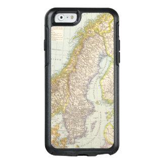 Coque OtterBox iPhone 6/6s Schweden, Norwegen - la Suède et carte de la