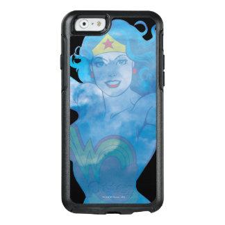 Coque OtterBox iPhone 6/6s Silhouette de ciel bleu de femme de merveille