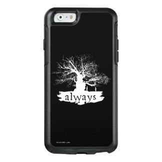 Coque OtterBox iPhone 6/6s Silhouette de citation du charme | de Harry Potter