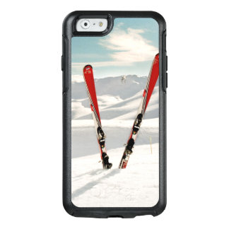 Coque OtterBox iPhone 6/6s Skis rouges