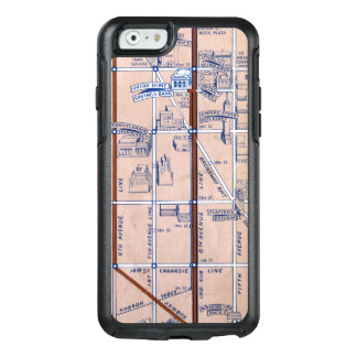 COQUE OtterBox iPhone 6/6S SOUTERRAIN MAP, 1940 2 DE NEW YORK