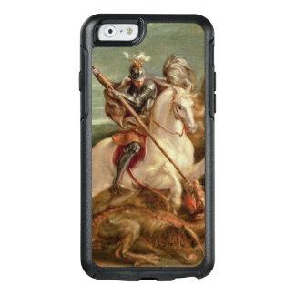 Coque OtterBox iPhone 6/6s St George massacrant le dragon, (huile sur le