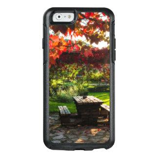 Coque OtterBox iPhone 6/6s Sun par le feuille d'automne, Croatie