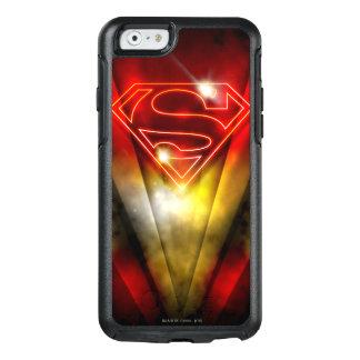 Coque OtterBox iPhone 6/6s Superman a stylisé le logo rouge brillant