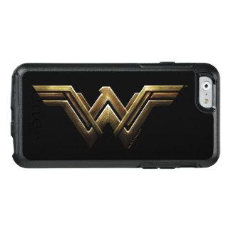 Coque OtterBox iPhone 6/6s Symbole métallique de femme de merveille de la