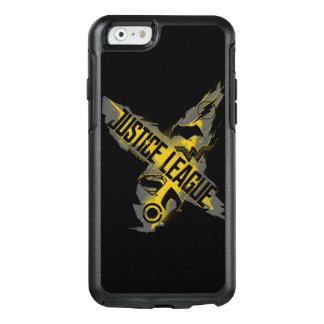 Coque OtterBox iPhone 6/6s Symboles de ligue et d'équipe de justice de la