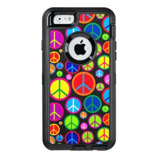 Coque OtterBox iPhone 6/6s Symboles de paix super colorés frais
