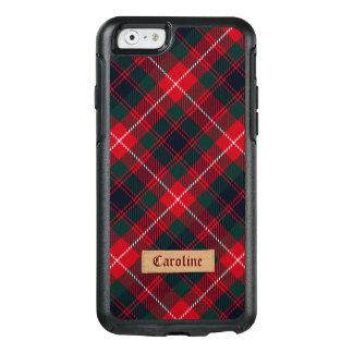 Coque OtterBox iPhone 6/6s Tartan rouge Girly de Stewart avec l'étiquette