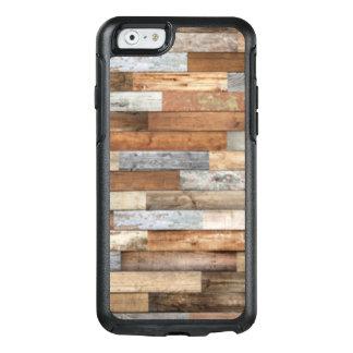 Coque OtterBox iPhone 6/6s Téléphone récupéré rustique de fibre de bois de