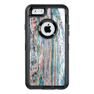 Coque OtterBox iPhone 6/6s Texture de marbre colorée et brillante
