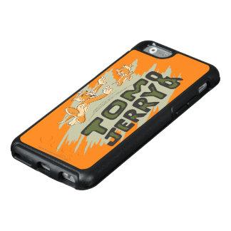 Coque OtterBox iPhone 6/6s Tom et logo de chasse de Jerry