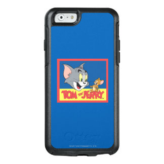 Coque OtterBox iPhone 6/6s Tom et logo de Jerry plat
