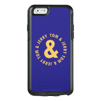 Coque OtterBox iPhone 6/6s Tom et logo rond 4 de Jerry