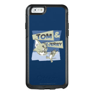 Coque OtterBox iPhone 6/6s Tom et souris de Jerry Scaredey