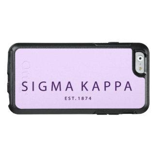 Coque OtterBox iPhone 6/6s Type moderne de Kappa de sigma