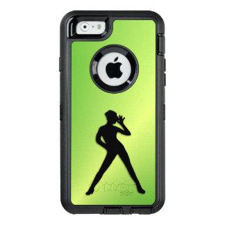 Coque OtterBox iPhone 6/6s Vert de danse moderne