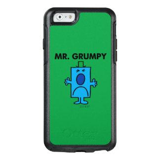 Coque OtterBox iPhone 6/6s Visage de froncement de sourcils de M. Grumpy |
