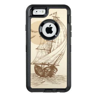 Coque OtterBox iPhone 6/6s Voilier vintage