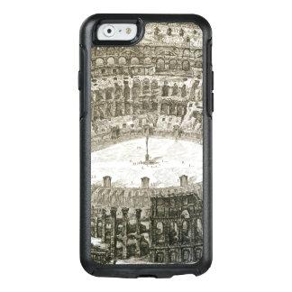 Coque OtterBox iPhone 6/6s Vue aérienne du Colosseum à Rome des 'vues o