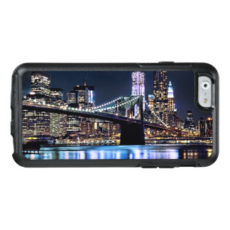 Coque OtterBox iPhone 6/6s Vue de la réflexion de pont de Brooklyn de New