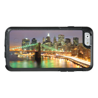 Coque OtterBox iPhone 6/6s Vue de Lower Manhattan et du pont de Brooklyn