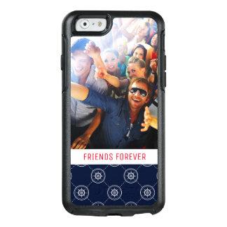 Coque OtterBox iPhone 6/6s Wheel Pattern de capitaines | votre photo et texte