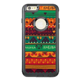 Coque OtterBox iPhone 6 Et 6s Plus Africain coloré aucune typographie d'inquiétudes