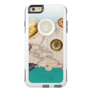 Coque OtterBox iPhone 6 Et 6s Plus Aigue-marine marine de collage