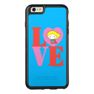 Coque OtterBox iPhone 6 Et 6s Plus AMOUR de Chibi Supergirl