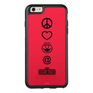 Coque OtterBox iPhone 6 Et 6s Plus Amour Elmo de paix