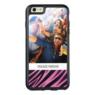 Coque OtterBox iPhone 6 Et 6s Plus Arrière - plan rose fait sur commande de rayure de