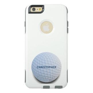 Coque OtterBox iPhone 6 Et 6s Plus Boule de golf blanche simple personnalisée