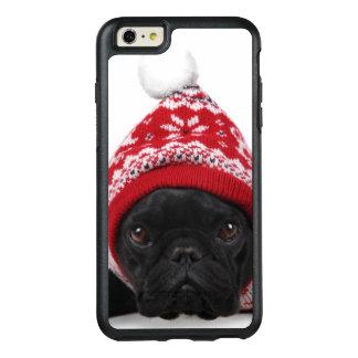 Coque OtterBox iPhone 6 Et 6s Plus Bouledogue avec le chandail à capuchon