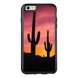 Coque OtterBox iPhone 6 Et 6s Plus Cactus de Saguaro au lever de soleil, Arizona