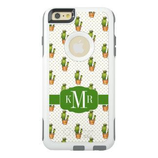 Coque OtterBox iPhone 6 Et 6s Plus Cactus et motif de point succulent de Polk