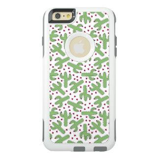 Coque OtterBox iPhone 6 Et 6s Plus Cactus illustré et motif de fleurs rose