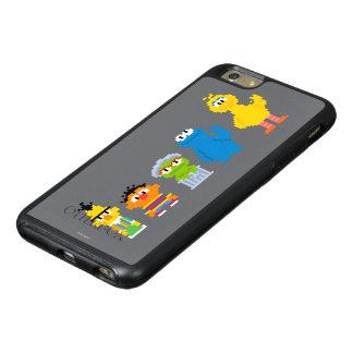 Coque OtterBox iPhone 6 Et 6s Plus Caractères de Sesame Street de pixel