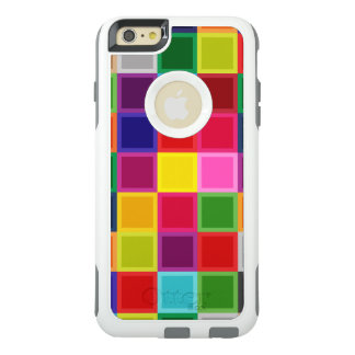 Coque OtterBox iPhone 6 Et 6s Plus Carrés colorés multi Girly