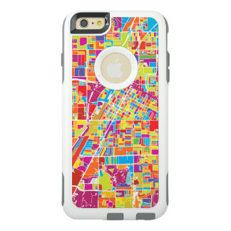 Coque OtterBox iPhone 6 Et 6s Plus Carte de Las Vegas coloré, Nevada