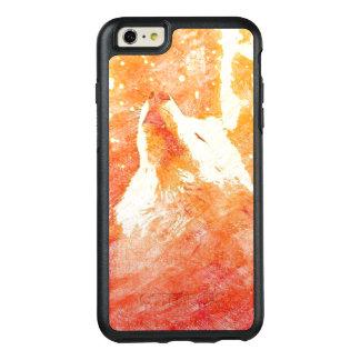 Coque OtterBox iPhone 6 Et 6s Plus Cas plus d'Otterbox de l'iPhone 6 oranges de loup