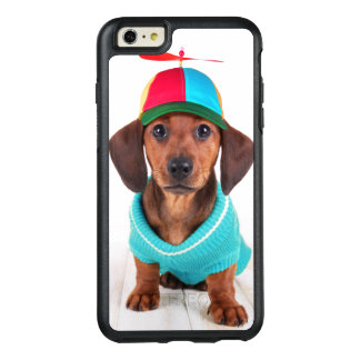 Coque OtterBox iPhone 6 Et 6s Plus Chapeau de port de propulseur de chiot de teckel