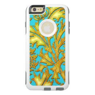 Coque OtterBox iPhone 6 Et 6s Plus Chardon bleu d'or