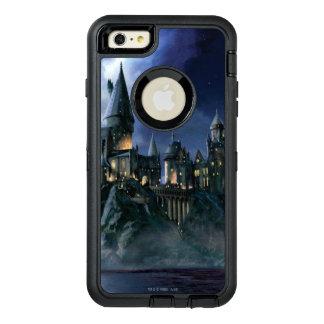 Coque OtterBox iPhone 6 Et 6s Plus Château | Hogwarts éclairé par la lune de Harry