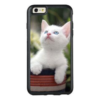 Coque OtterBox iPhone 6 Et 6s Plus Chaton blanc turc