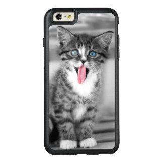 Coque OtterBox iPhone 6 Et 6s Plus Chaton drôle avec la langue traînant