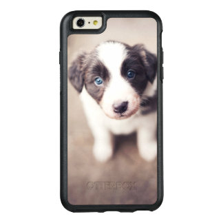 Coque OtterBox iPhone 6 Et 6s Plus Chiot de border collie avec des yeux bleus