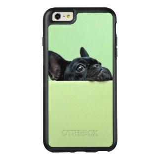 Coque OtterBox iPhone 6 Et 6s Plus Chiot de bouledogue français scrutant au-dessus du