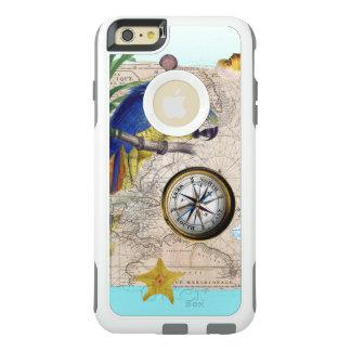 Coque OtterBox iPhone 6 Et 6s Plus Collage bleu tropical