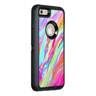 Coque OtterBox iPhone 6 Et 6s Plus Couleur liquide au néon