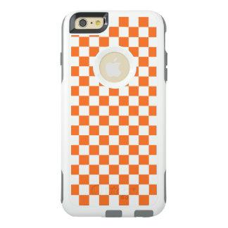 Coque OtterBox iPhone 6 Et 6s Plus Damier orange